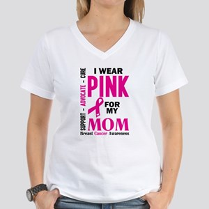 I Wear Pink For My Mom (Breast Cancer Awareness) T