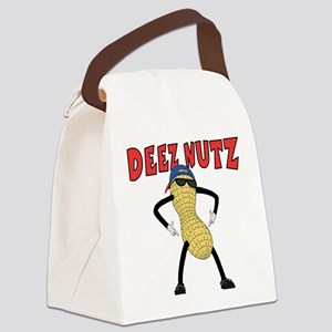 DEEZ NUTZ Canvas Lunch Bag