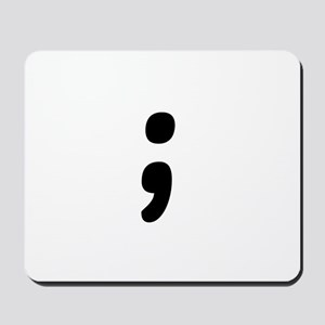 Semicolon Mousepad