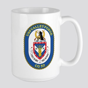 Uss Valley Forge Cg 50 Mugs