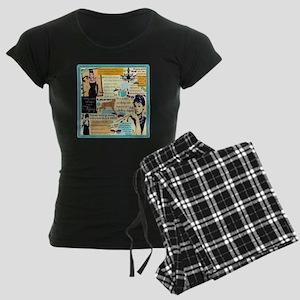 B A T Women's Dark Pajamas