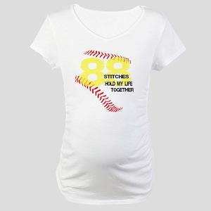 88 stitches Maternity T-Shirt