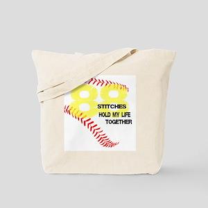 88 stitches Tote Bag