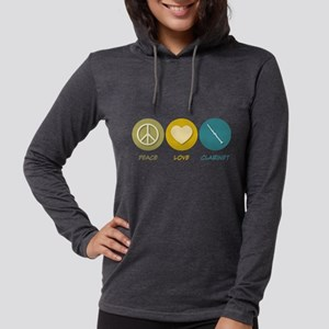 Peace Love Clarinet Long Sleeve T-Shirt