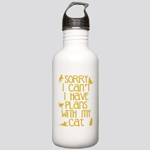 Sorry Plans With My Ca Stainless Water Bottle 1.0L