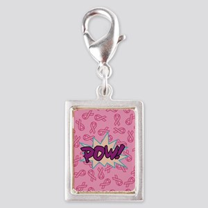Breast Cancer Super Hero Charms