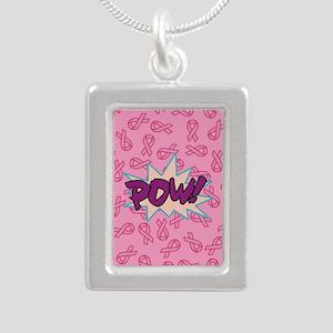 Breast Cancer Super Hero Necklaces
