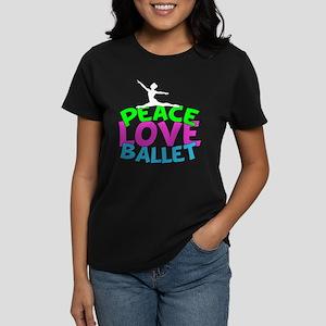 Ballet Love Women's Dark T-Shirt