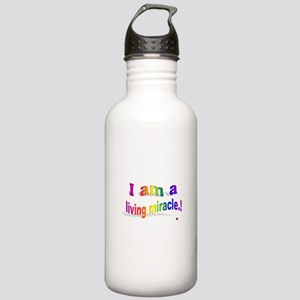 A Living Miracle Stainless Water Bottle 1.0L