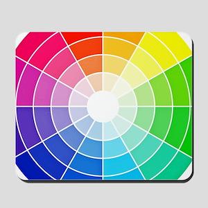 color wheel Mousepad