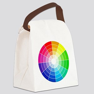 color wheel Canvas Lunch Bag