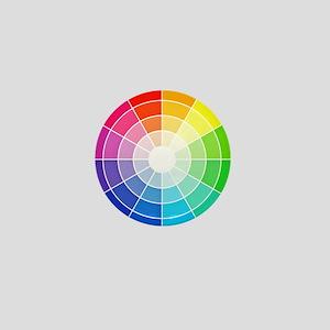 color wheel Mini Button
