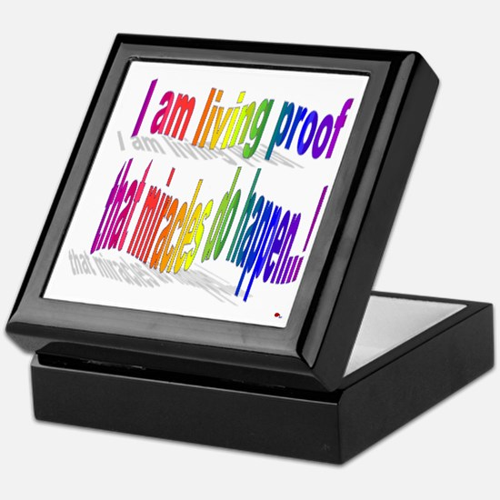 A Living Miracle Keepsake Box