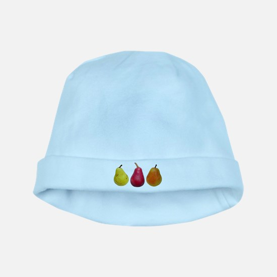 Three Pears baby hat