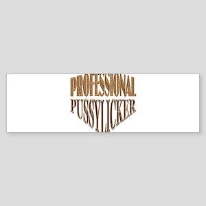 Pro Pussylicker Sticker (Bumper)
