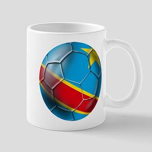 DR Congo Soccer Ball Mug