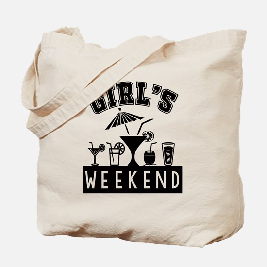 Girl's Weekend Tote Bag