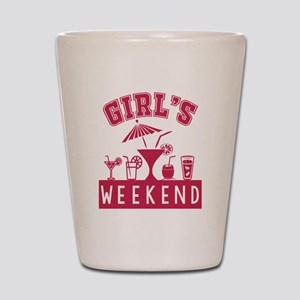 Girl's Weekend Shot Glass