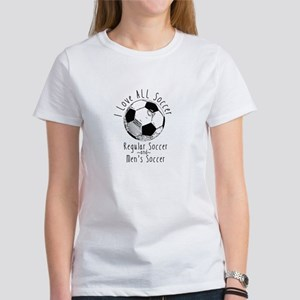 Soccer Love (Fem Power) Women's T-Shirt