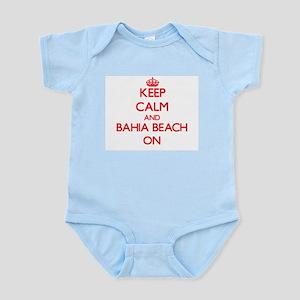 Keep calm and Bahia Beach Florida ON Body Suit