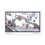 Winter Park Mini Poster Print