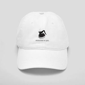 Addicted to pot Cap