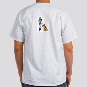 Sexy Police K9 Officer Light T-Shirt
