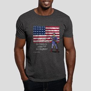 Press 1 for English Dark T-Shirt