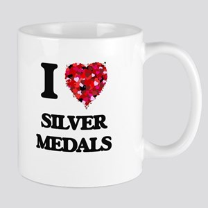 I Love Silver Medals Mugs