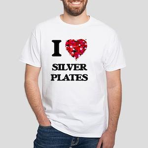 I Love Silver Plates T-Shirt