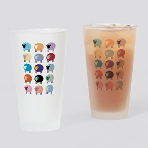 Sheeple Drinking Glass