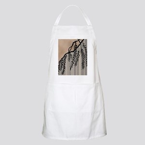 Pinstripes, Willow, and Clouds Apron