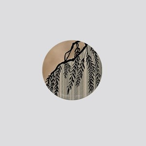 Pinstripes, Willow, and Clouds Mini Button