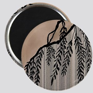 Pinstripes, Willow, and Clouds Magnet