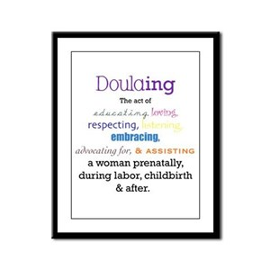 Doulaing Colorful Framed Panel Print