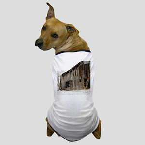 Winter Barn Dog T-Shirt