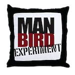 ManBird Throw Up Pillow
