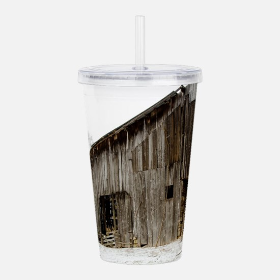 Winter Barn Acrylic Double-wall Tumbler