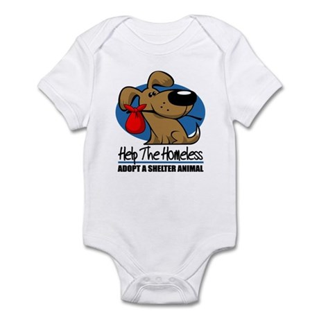 Homeless Pets Infant Bodysuit