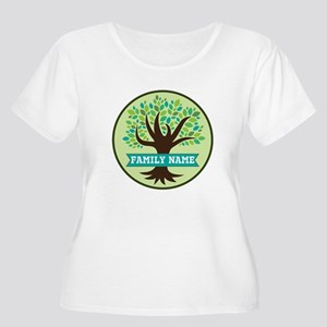 Genealogy Family Tree Personalized Plus Size T-Shi