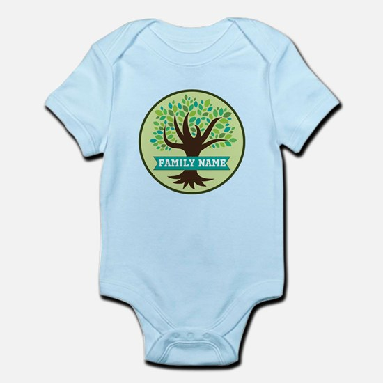Genealogy Family Tree Personalized Body Suit