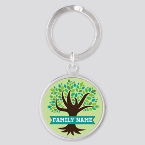 Genealogy Family Tree Personalized Keychains