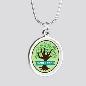 Genealogy Family Tree Personalized Necklaces