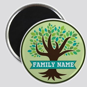 Genealogy Family Tree Personalized Magnets