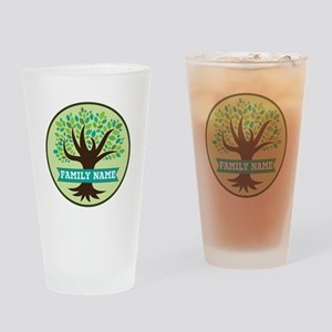 Genealogy Family Tree Personalized Drinking Glass
