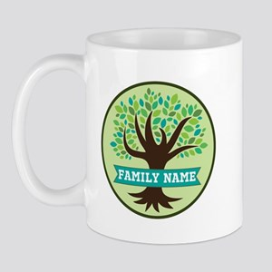Genealogy Family Tree Personalized Mugs