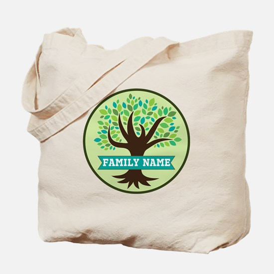 Genealogy Family Tree Personalized Tote Bag