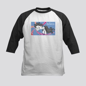 Traditional Unicorn Kids Baseball Jersey