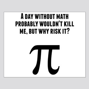 A Day Without Math Posters