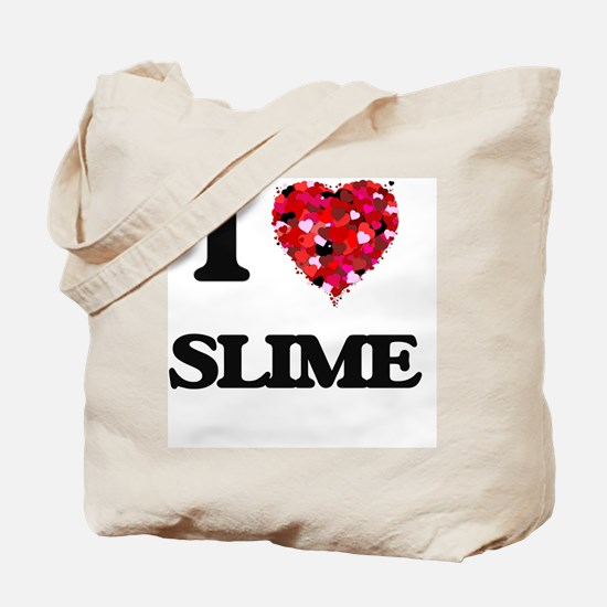 I love Slime Tote Bag